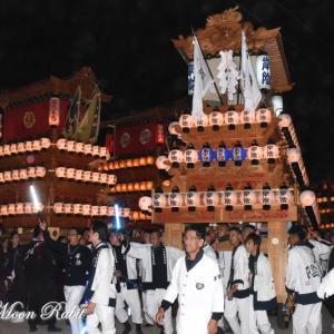 岸陰だんじり(屋台) その1 楢本祭2019 西条祭り 愛媛県西条市