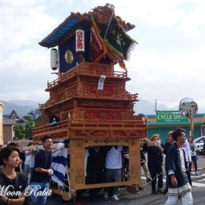 東町だんじり(屋台) 風伯祭2019 その2 西条祭り 愛媛県西条市