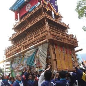 日明だんじり(屋台) 御殿前 その2 伊曽乃神社祭礼 西条祭り2019 愛媛県西条市