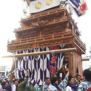 西之川原だんじり(屋台) 御殿前 その1 伊曽乃神社祭礼 西条祭り2019 愛媛県西条市