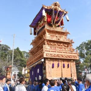 西泉だんじり(屋台) 本殿祭 その4 石岡神社祭礼 西条祭り2019 愛媛県西条市