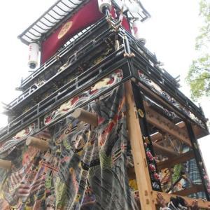 奥之内だんじり(屋台) 御殿前 その2 伊曽乃神社祭礼 西条祭り2019 愛媛県西条市