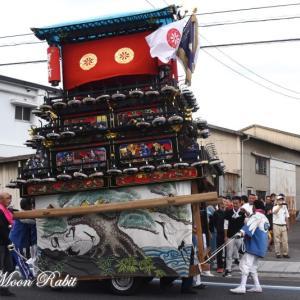 原之前だんじり(屋台) その2 原之前荒神社祭 西条祭り2019 愛媛県西条市神拝