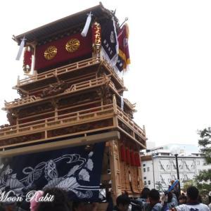 新田だんじり(屋台) 御殿前 その3 伊曽乃神社祭礼 西条祭り2019 愛媛県西条市