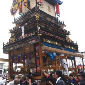 常心上組だんじり(屋台) 御殿前 その2 伊曽乃神社祭礼 西条祭り2019 愛媛県西条市