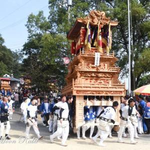 宮之下だんじり(屋台) 本殿祭 その3 石岡神社祭礼 西条祭り2019 愛媛県西条市
