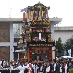 常心上組だんじり(屋台) 御殿前 その3 伊曽乃神社祭礼 西条祭り2019 愛媛県西条市