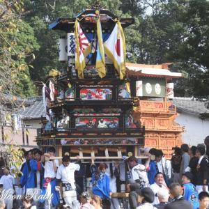 新兵衛だんじり(屋台) 本殿祭 その2 石岡神社祭礼 西条祭り2019 愛媛県西条市