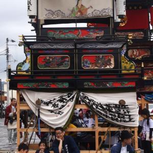 辯財天だんじり(屋台) 西条駅 西条祭り2019 愛媛県西条市大町