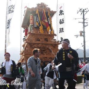 久保だんじり(屋台) 本殿祭 その2 石岡神社祭礼 西条祭り2019 愛媛県西条市