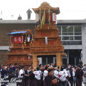 西町だんじり(屋台) 御殿前 その1 伊曽乃神社祭礼 西条祭り2019 愛媛県西条市