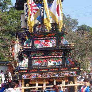 新兵衛だんじり(屋台) 本殿祭 その3 石岡神社祭礼 西条祭り2019 愛媛県西条市