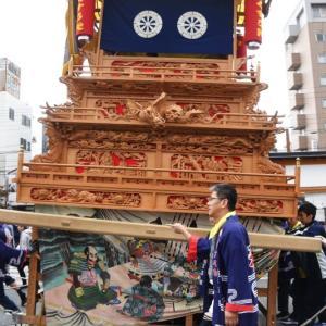 楠だんじり(屋台) 西条駅 西条祭り2019 愛媛県西条市大町
