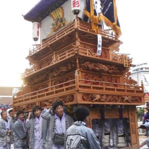 船形だんじり(屋台) 御殿前 その2 伊曽乃神社祭礼 西条祭り2019 愛媛県西条市