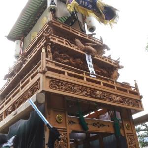 登道だんじり(屋台) 御殿前 その1 伊曽乃神社祭礼 西条祭り2019 愛媛県西条市