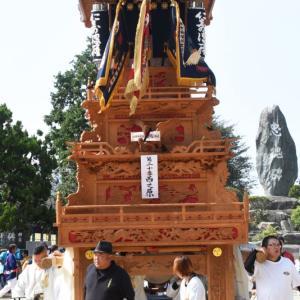 西之原だんじり(屋台) 本殿祭 その2 石岡神社祭礼 西条祭り2019 愛媛県西条市