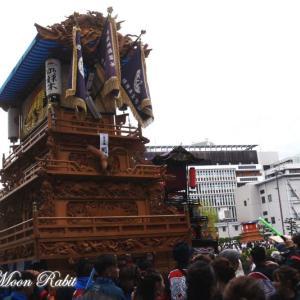 明神木だんじり(屋台) 御殿前 その1 伊曽乃神社祭礼 西条祭り2019 愛媛県西条市