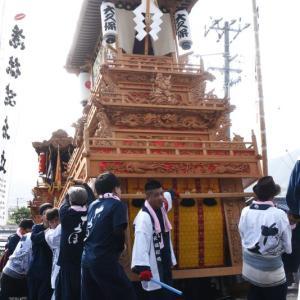 大久保だんじり(屋台) 本殿祭 その2 石岡神社祭礼 西条祭り2019 愛媛県西条市