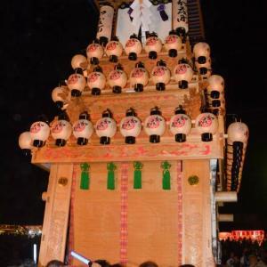 加茂町だんじり(屋台) お旅所2018 伊曽乃神社祭礼 西条祭り 愛媛県西条市