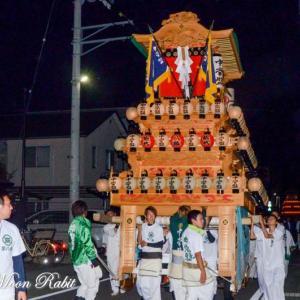 中常盤だんじり(屋台) 常盤祭2018 常盤神社 小松祭り 愛媛県西条市小松町