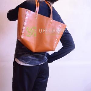 人づきあいを克服したい、自分を高めたい人におススメのオレンジのオートクチュールクラフト®バッグ