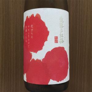 越路乃紅梅特別本醸造・ラベルと味とのギャップにやられた♡意外な味のお酒でしたよ