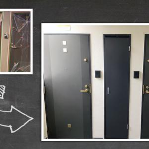 扉のBEFORE と AFTER
