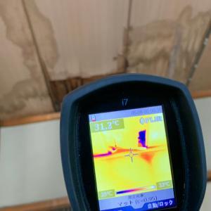 【雨漏り診断】サーモグラフィーカメラで見えない部分を調査できるってほんと?