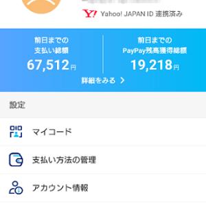PayPay決済アプリに青バッジが付いた件!!!