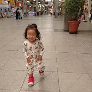 愛娘ちゃん 初めて大街道を闊歩してみた件!!! 【 #街中散歩 】