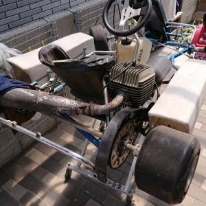 30年前のレーシングカートを発掘してみた件!!! 【#レーシングカート #瀬戸内海サーキット】