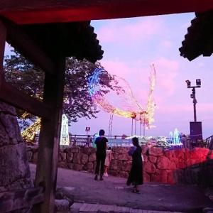 光のおもてなし㏌松山城2021に行ってみた件!!! 【 #光のおもてなし㏌松山城 】