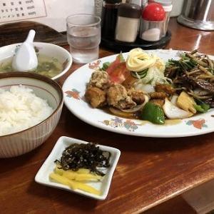 三つ巴のスタミナ定食で元気いっぱいお腹いっぱい「珉珉(みんみん)」
