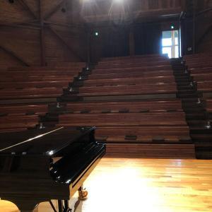 信州国際音楽村にいます
