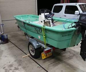 固いボートで久々釣行
