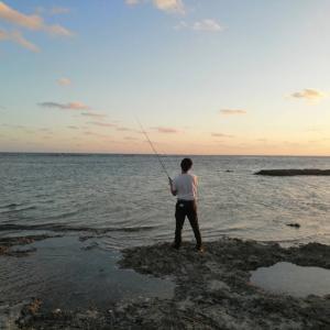 12月の沖縄ショア釣り