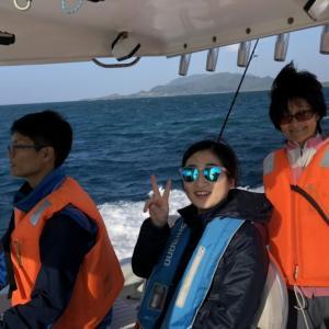 久しぶりの船釣りで高級魚アカジンGET!