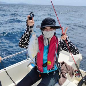 ご家族でファミリーフィッシングして釣れた魚でBBQ