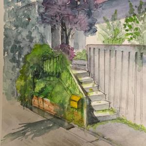 スモークツリーの咲く美容室