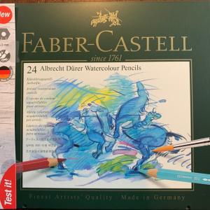 ファイバーカステルの水彩鉛筆