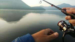 榛名湖の釣りは気持ちいい