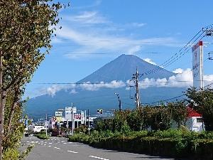 おっ! 富士山。