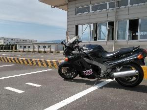 kawasaki  '95 ZZ-R1100 車検でした