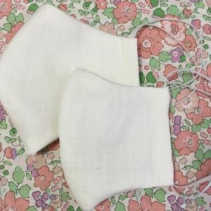 無料型紙を利用して布マスクを2種類つくりました♪