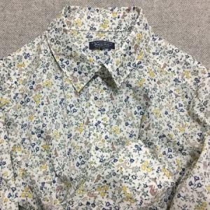 C&SさんリバティMeadow Tailsでシャツを作りました♪
