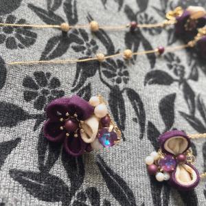 紫のオーダー品💜