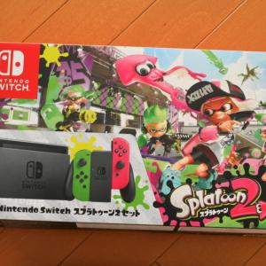 Nintendo Switch スプラトゥーン同梱版