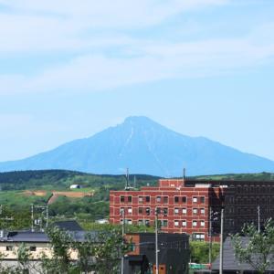 夏の利尻富士