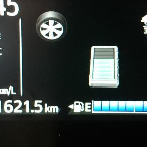 Toyotaアクアの燃費