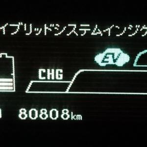 プリウス 81001キロっス